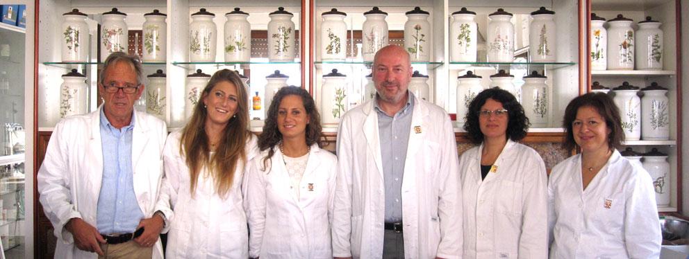 I farmacisti della Farmacia Riva